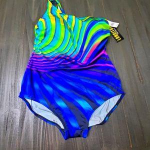 Longitude one strap swimsuit size 20